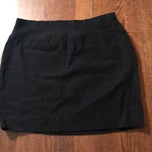 Maurices Black Stretch Mini Skirt Size Small